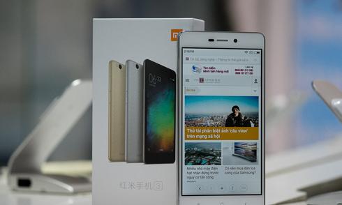 Smartphone giá rẻ, pin 2 ngày từ Xiaomi