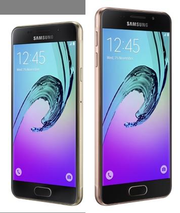 Samsung Galaxy A 2016 mang thiết kế của dòng Galaxy S