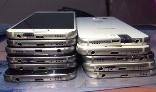Những chiếc smartphone cao cấp như S6, Note 5 hay G4 về Việt Nam theo đường tiểu ngạch, không có hộp.