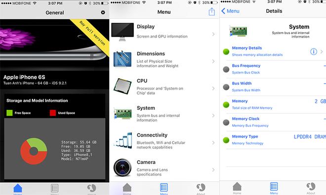 Một số cách để nhận biết iPhone 6s giả và nhái