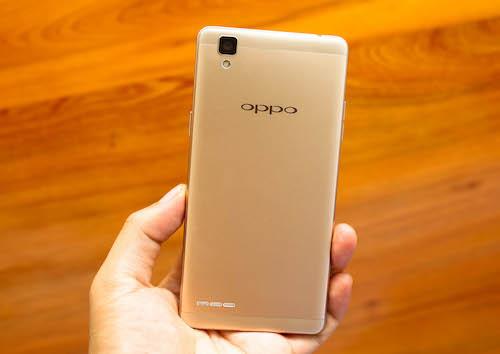 Oppo F1 – smartphone thời trang giá tầm trung
