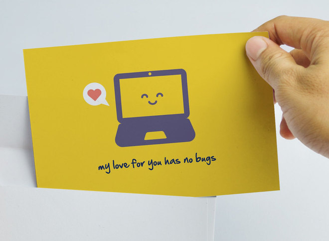 10 lời tỏ tình đậm chất công nghệ ngày Valentine