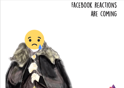 Nút cảm xúc Facebook Reactions thành đề tài chế ảnh mới