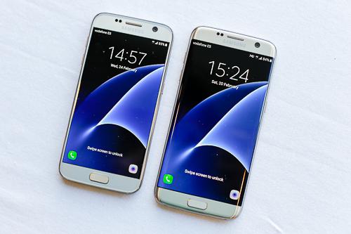 Bộ đôi của Samsung đều được cài đặt sẵn Android 6.0 MarshMallow.