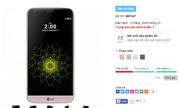 Giá dự kiến của LG G5 tại Việt Nam là 14 triệu đồng