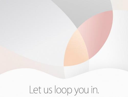 Nhưng gam màu quen thuộc như vàng hồng, vàng champagne, ghi xám và bạc làm nền cho thư mời của Apple.