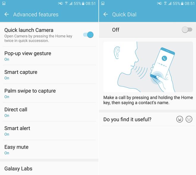 10 tính năng ẩn trên điện thoại Galaxy S7