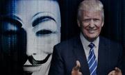 Anonymous tuyên chiến với Donald Trump