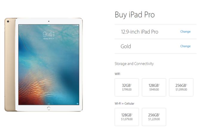 8 điểm khác nhau giữa iPad Pro 12,9 inch và 9,7 inch
