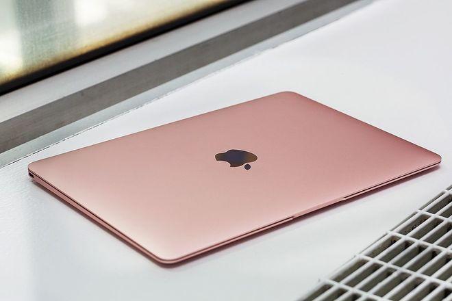 Ảnh MacBook 12 inch màu vàng hồng như iPhone 6s