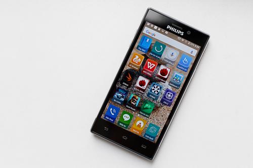 Philips đem công nghệ màn hình bảo vệ mặt SoftBlue từ TV và màn hình máy tính lên smartphone.