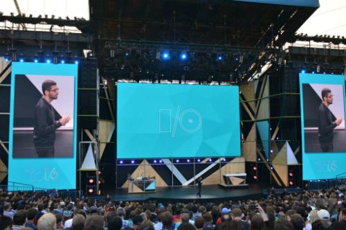 Hội nghị lập trình viên của Google, IO 2016, diễn ra tại Mỹ từ 18/5 đến 20/5.
