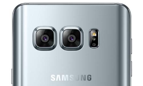 Ảnh minh hoạ về camera kép trên Galaxy Note thế hệ mới.