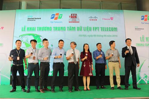 FPT Telecom khánh thành mở rộng hai trung tâm dữ liệu Data Center sáng 6/6.