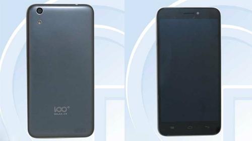 Mẫu smartphone 100C mà Baili cho rằng họ đã bị Apple nhái thiết kế trên iPhone 6 và 6 Plus.