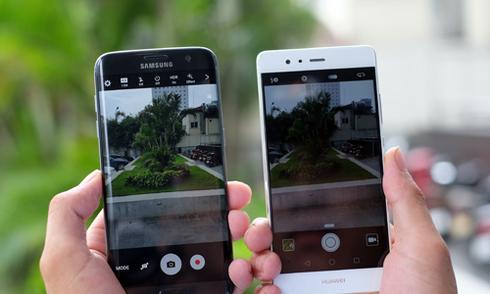 Huawei P9 đọ camera giấu mặt với Galaxy S7 edge