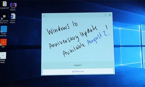 Bản cập nhật lớn Windows 10 Anniversary Update ra mắt ngày 2/8