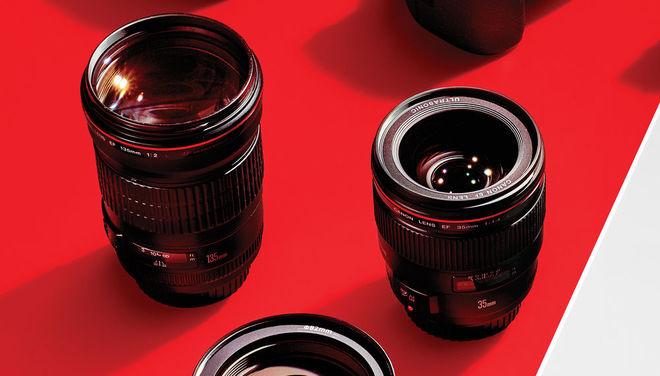Bộ camera, ống kính của nhiếp ảnh gia Nhà Trắng