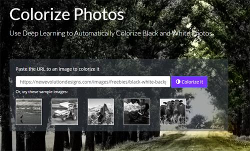 Ứng dụng AI biến ảnh đen trắng thành ảnh màu