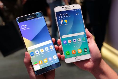 So với Note 5 năm ngoái, Galaxy Note 7 năm nay trình làng với nhiều cải tiến từ thiết kế cho tới tính năng và công nghệ.