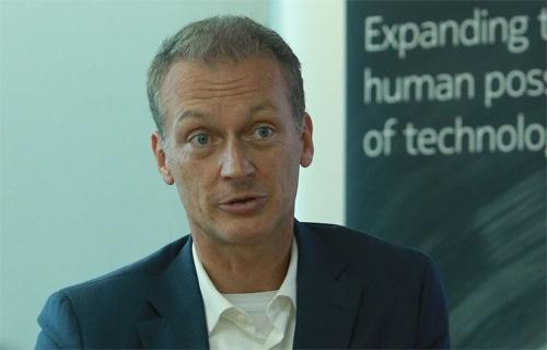 Harald Preiss, Giám đốc Nokia khu vực Đông Bắc Á.