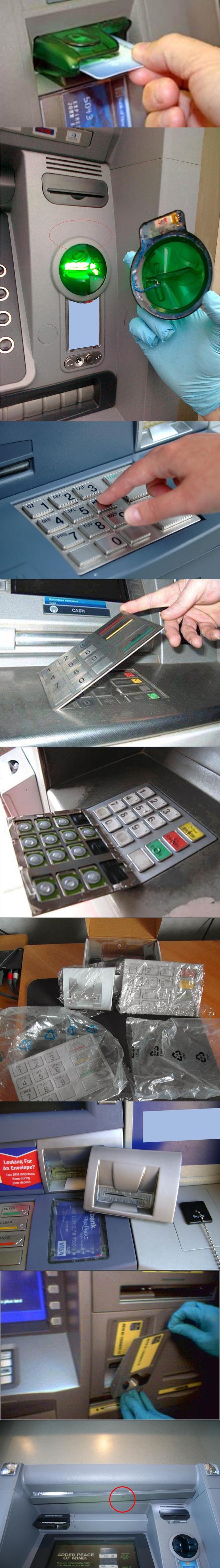 Skimmer - thiết bị sao chép thẻ ATM