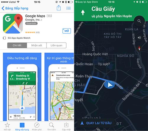 google-maps-cho-tai-ve-chinh-thuc-tren-app-store-viet-nam