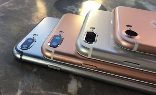 Trung Quốc sản xuất iPhone 7 mô hình trước cả Apple