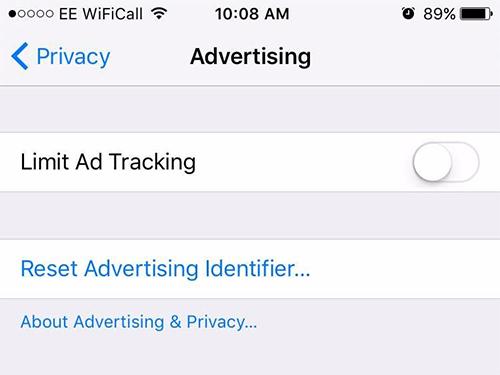 Apple sẽ ngăn các công ty quảng cáo theo dõi người dùng