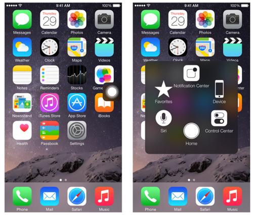 AssistiveTouch được dùng với mục đích hoàn toàn khác so với mục đích Apple tạo ra nó.