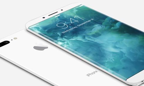 Ý tưởng iPhone 8 vỏ gốm, màn hình tràn cạnh