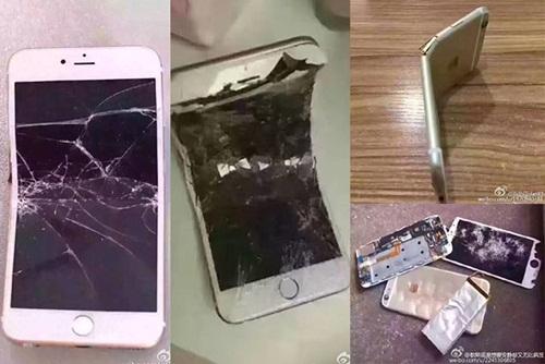 Một số người Trung Quốc cho rằng đập phá iPhone thể hiện tình yêu nước.