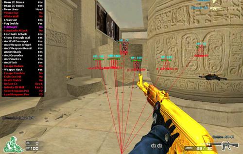 Game bắn súng trực tuyến là thể loại bị hacker can thiệp nhiều nhất.