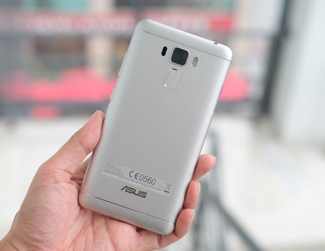 Zenfone 3 phiên bản vỏ kim loại giá 5,99 triệu đồng