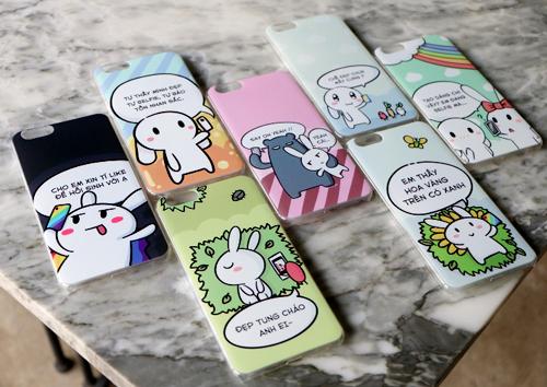 Bộ sưu tập ốp lưng Thỏ Bảy Màu độc đáo là quà tặng dành cho khách hàng mua điện thoại OPPO F1s tại FPT Shop từ nay cho đến hết ngày 2/11.