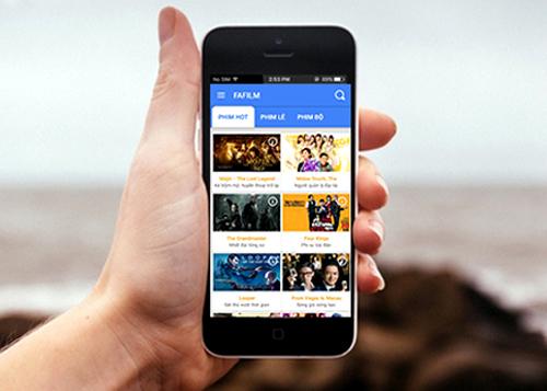 Giao diện thân thiện & dễ sử dụng của gói FAFILM trên Mobifone