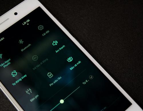 Huawei GR5 Mini tích hợp chế độ bảo vệ mắt khi dùng ban đêm