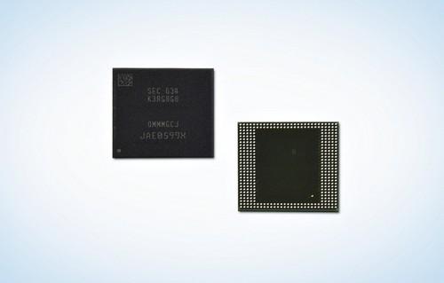Samsung ra RAM 8 GB đầu tiên cho thiết bị di động