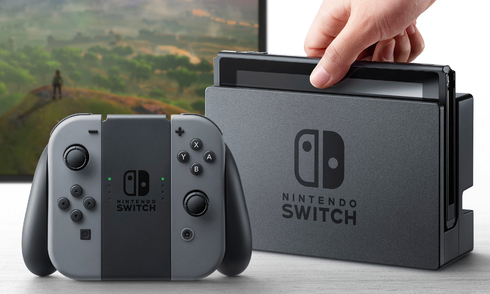 Nintendo ra mắt máy chơi game Switch có thể 'biến hình'