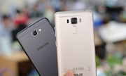 Galaxy J7 Prime đọ camera giấu mặt với Zenfone 3 Laser