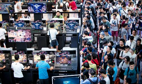 Trung Quốc sở hữu lượng tăng về game thủ và thiết bị mới một cách chóng mặt.