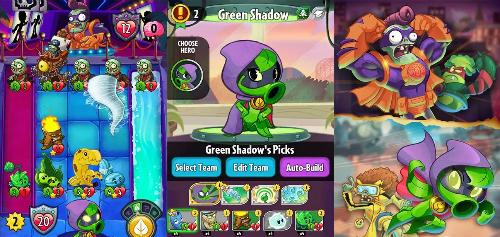 Plants vs. Zombies: Heroes - 'Hoa quả nổi giận' phiên bản thẻ bài