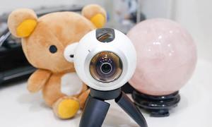 Samsung Gear 360 camera di động chụp 360 độ giá tốt