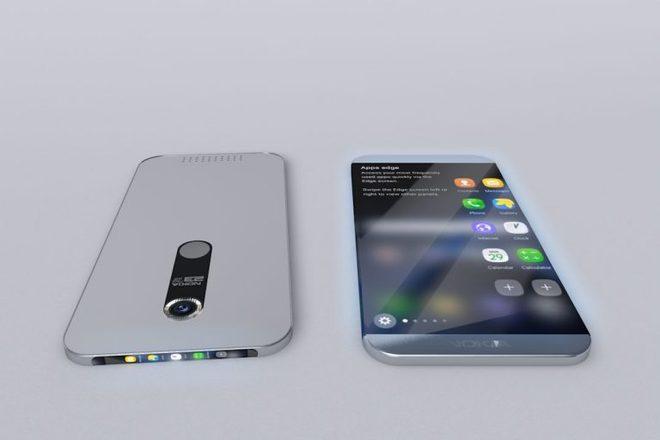 Ý tưởng Nokia Edge màn hình tràn viền