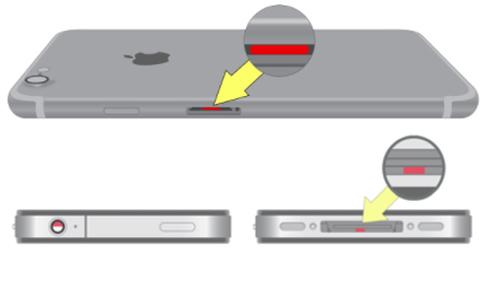 Cách nhận biết iPhone đã vào nước