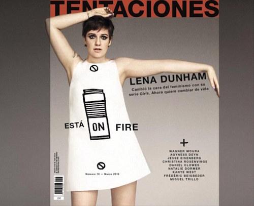Vì sao Lena Dunham phải viết tâm thư cho tạp chí Tentaciones?