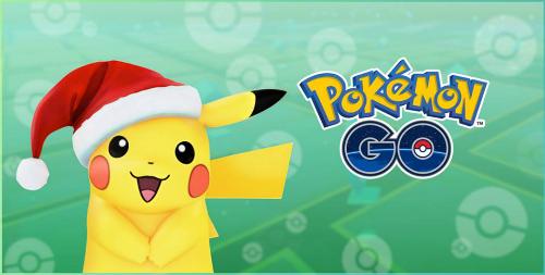 Pikachu có thêm mũ Noel cho dịp lễ cuối năm.