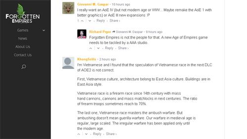 Game thủ có nickname KhongSoVo đã lên tiếng về các lỗi sai của nhà phát triển khi xây dựng game về lịch sử Việt Nam.