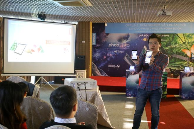 Trải nghiệm Phab 2 Pro tại Hà Nội