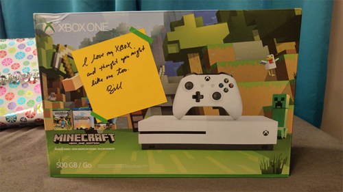Bộ Xbox One Minecraft Edition.